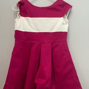 Kate Spade Girl's Pink and White Dress